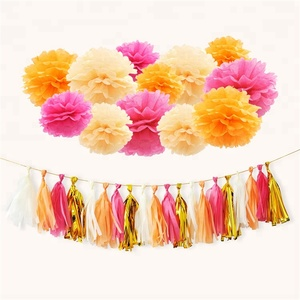 Paper tissue hanging flower paper tissue hanging flower suppliers party holiday outdoor indoor tissue paper hanging decorative paper pom poms giant flower mightylinksfo
