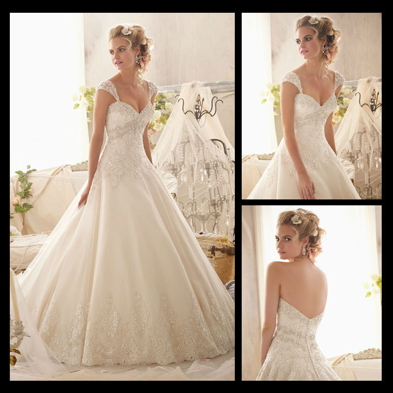 WA00003 Customized sweetheart beautiful hot sale detach straps new model 2013 wedding dress