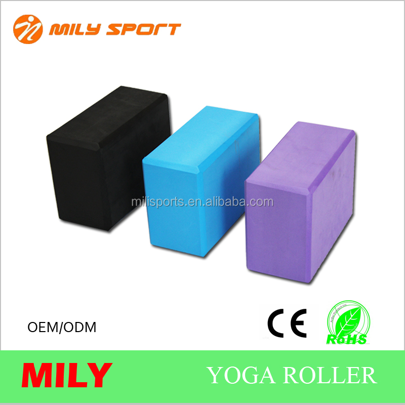 Random Color!!! Hot Sale Yoga Block Brick Aerobic Pilates Foam Exercise Fitness Health Gym Sport Tool