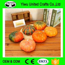 Artificial Pumpkins Model Furnishing Ambry Kitchen Accessories Household Halloween Wedding Fruit Decoration