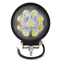 Super cool 27w led work light,worklamp led 4x4 27w round extra lights for cars
