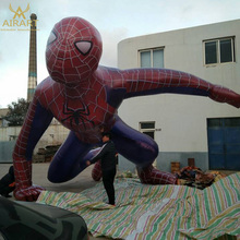 Custom-made model inflatable spider-man for outdoor decoration party decoration exhibition.