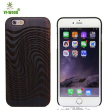 Real Wood Eco Friendly Personalized Wooden Cell Phone Case For Iphone 6, For Iphone 6 plus Wooden Case Bamboo