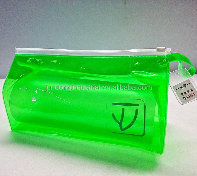 #JD-pvc021 PVC zipper bag for cosmetic sample set