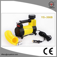 mini 12v air compressor for car tires (YS-306B)