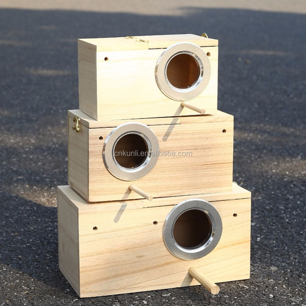 Pet Bird Breeding Nesting Bird Avery Cage Box