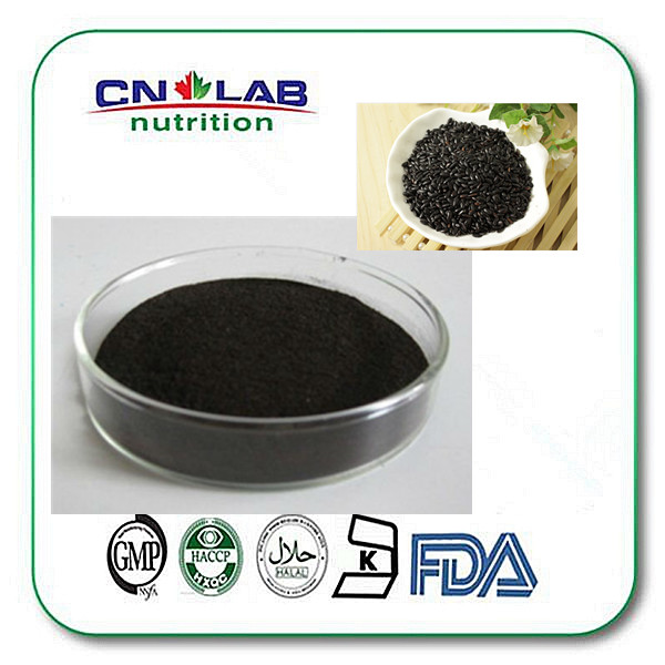 Use for bran black rice extract powder in bulk