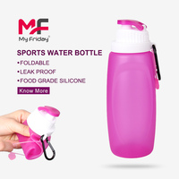 High Quality Liquid Silicone Folding Water Bottle Top Sale Outdoor Gear Canada