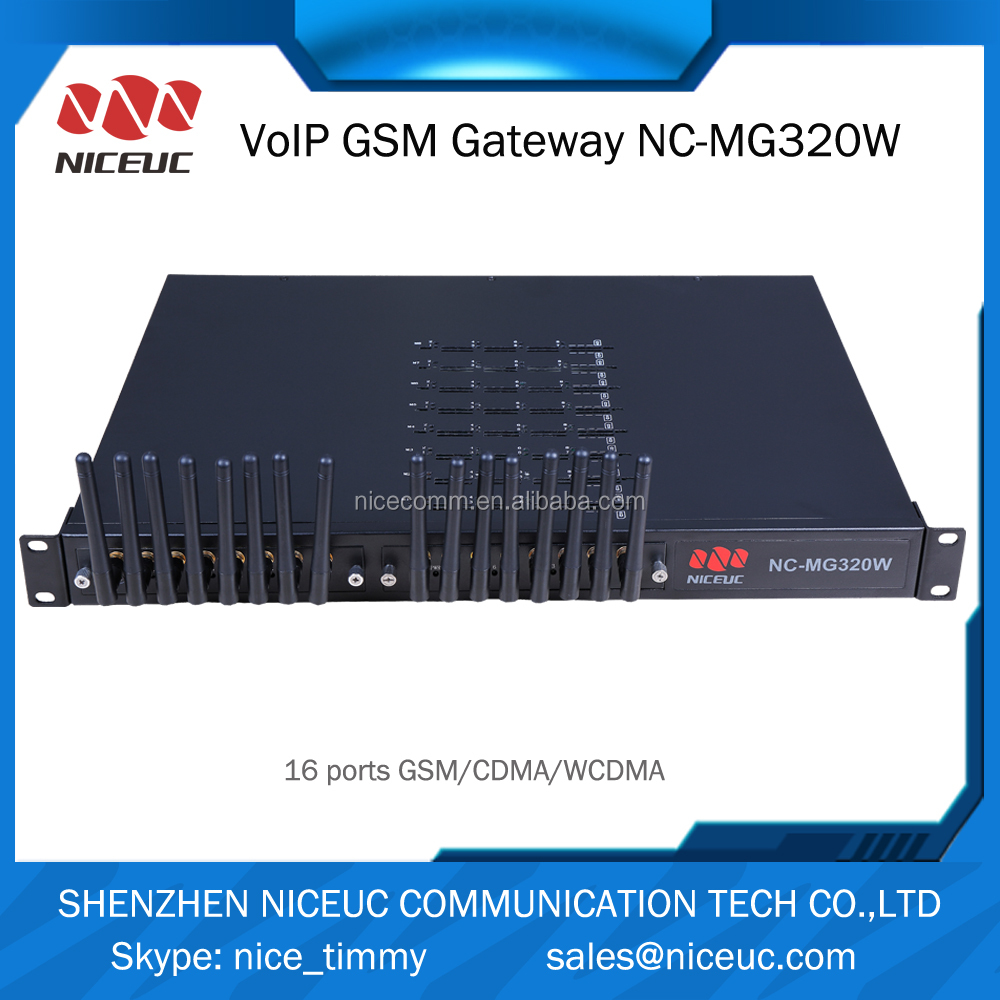 NICEUC voip products remote control Sim bank/Sim box asterisk e1 gateway pbx system