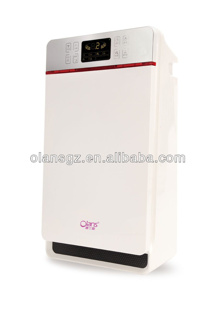 negative air purifie olans,Ultra-sonic Cleaner with LCD Display, 509W Power Consumption