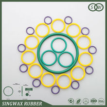 High Quality colored nbr/hnbr/epdm/silicone/fpm/viton/sbr/cr/iir/acm/nr/pu Eco-friendly Rubber O Ring