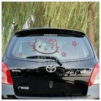 easy removable vinly car window decal sticker