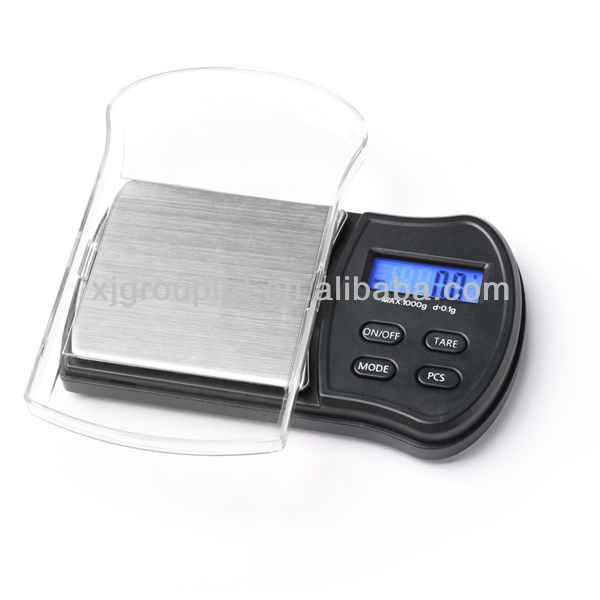 Digital mini pocket scales 1000g/0.1g