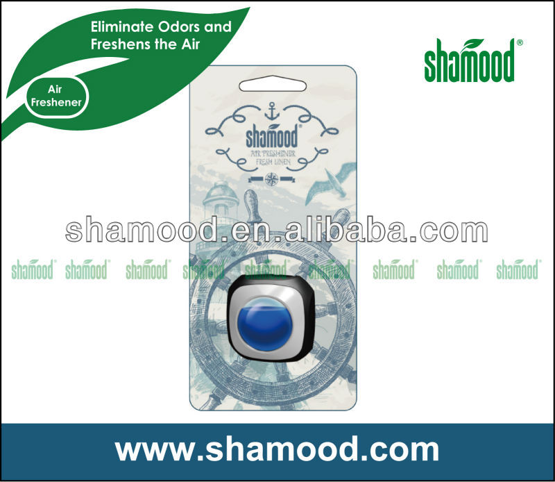 Shamood Brand Car Vent Air Freshener Strong Scent With Special Membrane And New Clip