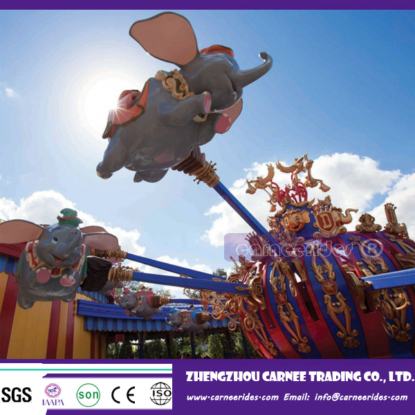 wholesale children's zipper rotary elephant game fairground rides for sale cheap