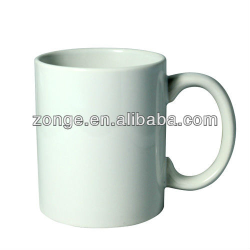 11oz Cermic Coffee Mug For Sublimation Printing White