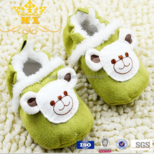 Funny handmade crochet wool baby girls shoes