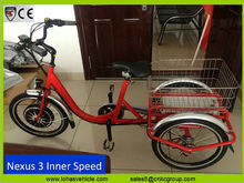 cheap aluminum adult tricycle 350 w