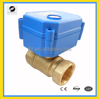 CWX-15Q 5V 2-way electric motor ball valve for for water leakage detector system