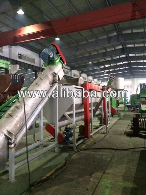 pp pe hdpe washing recycling line 1000kg/h