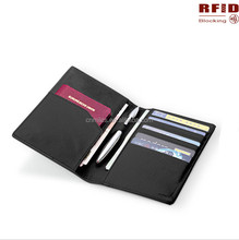 Factory price!OEM PU Leather Rfid Blocking Passport Case/Passport holder