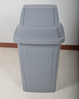 indoor kitchen 40 Liter HDPE plastic trash container plastic bin bag