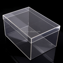 Custom plastic clear acrylic shoe display case for nike shoes
