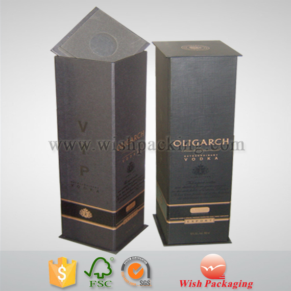 2mm / 1200gsm Vodka paper cardboard box