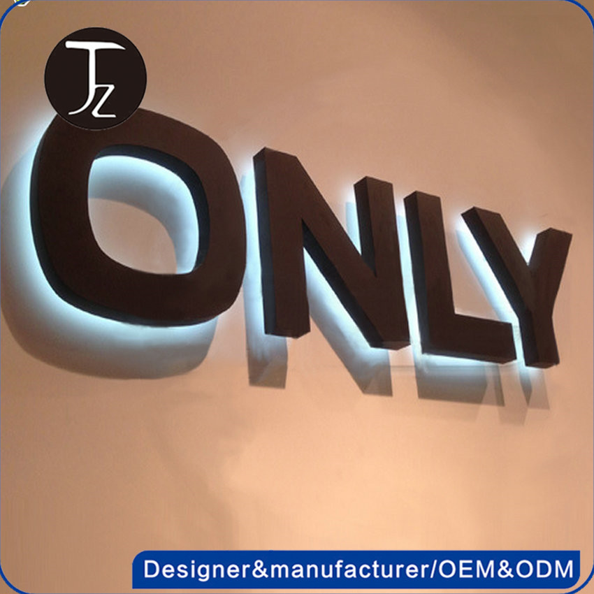 Casting Craftsman 3D advertising led channel letter acrylic sign boards