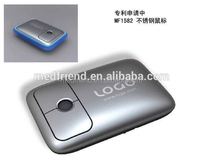 Stainless Steel Wireless Mouse