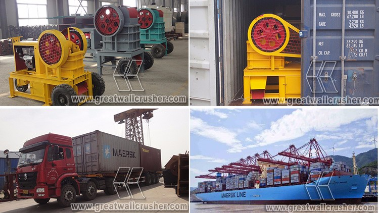 Gold Supplier mobile diesel engine stone crusher, Low price mini diesel crusher