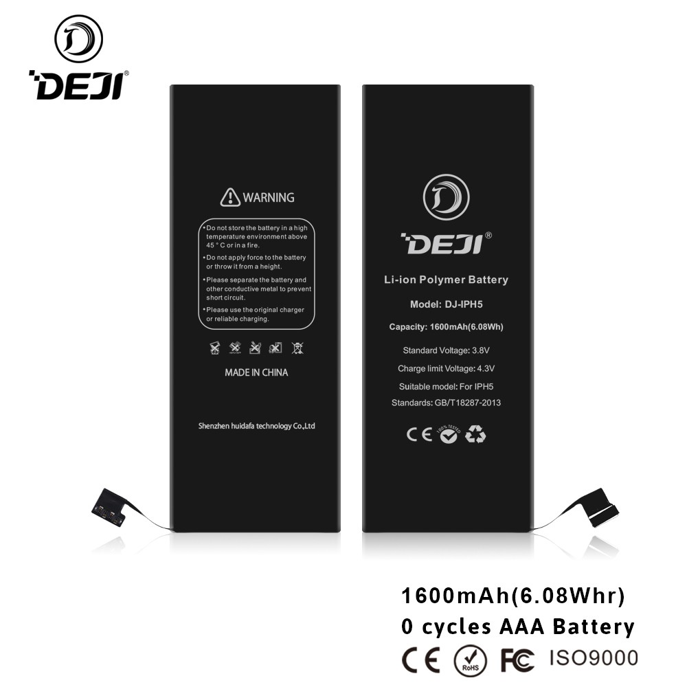3.8V 1440 mAh Li-ion Replacement Battery for iPhone 5 with Tools