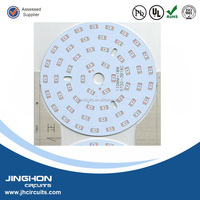 Stabilize quality and competive price long Aluminum pcb for led light circuit board maker from China