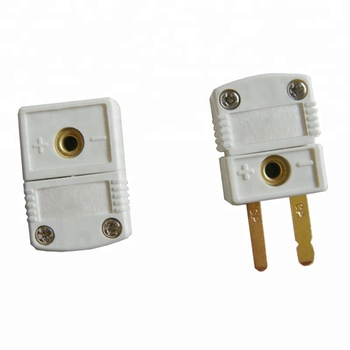Mini Flat Two  Pin  Pt100 Connector
