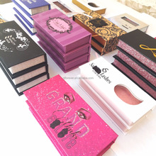 Private Label False Lashes Boxes Package Custom Eyelash Case Packaging Box