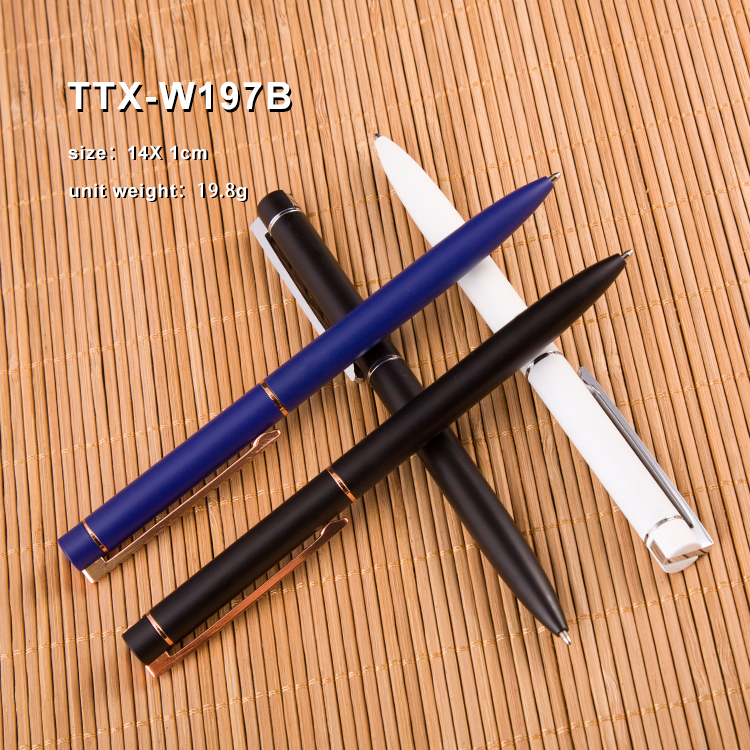 Manufacture High quality Luxury Slim metal custom logo Promotional pens