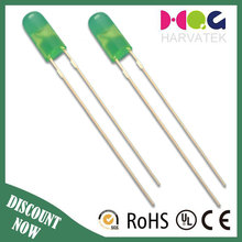 Super bright round type 3mm 4mm green white led