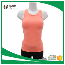 Fashion Women Sleeveless Sportswear Tight Gym Fitness Yoga Tank Top