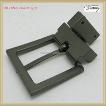 BUC8568 Black simple design high quality swivel buckle, changeable belt buckle