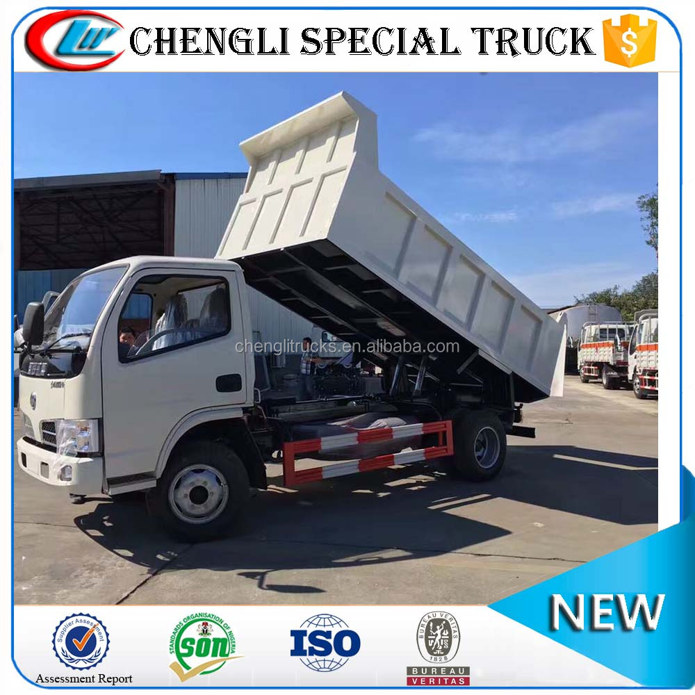 Cheap Price Dongfeng Left hand drive Diesel 4x2 4x4 Mini Dump Truck 3 ton 5 ton for sale