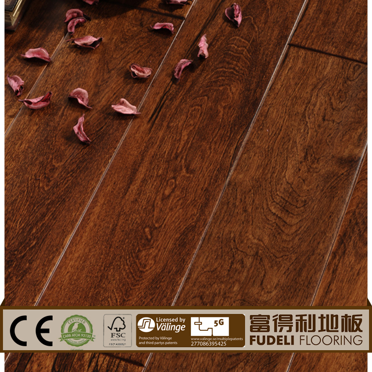 compressed and multilayer exotic wood floor for sale
