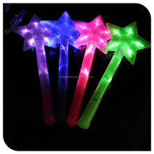 Direct From Factory Colorful LED Flashing Star Glow Light Stick For Concert And Party