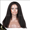Brazilian human hair full lace wig, kinky straight human hair wigs
