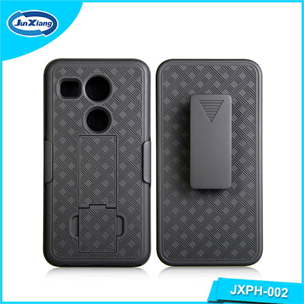 Cell phone accessories mobile covers of high quality swivel belt clip kickstand shockproof case for LG nexus 5X