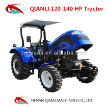 4wd machinery tractor with wheeled excavator front axle for sale