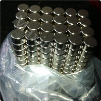 ISO certified Ningbo factory high powerful round neodymium magnets N35 D8*3mm