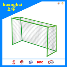 PE sports equipment Soccer and football goal gate steel frame and nylon net