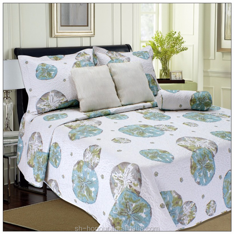 cheap polyester quilt/quilted home coverlets