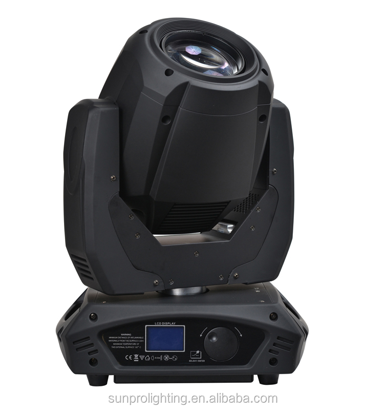 New 200w moving scanner moving beam projector light for wedding background