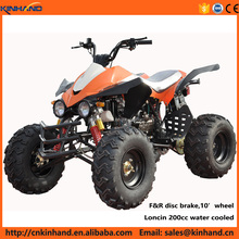 Kawasaki style loncin 200cc water cooled sports ATV